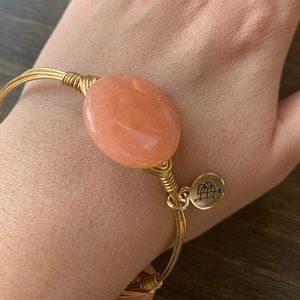 New Bourbon and Boweties gold and PEACH 🍑 bangle
